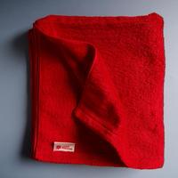 LITTLE SUNSHINE  バスタオル 63×130cm ストロベリーレッド