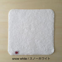 リトルサンシャイン チーフタオル 23×23cm スノーホワイト
