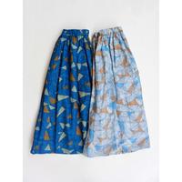 ina(イナ)コットンシフォンボイルギャザースカート