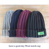 have a good day ハブアグッドディ Wool Watch Cap