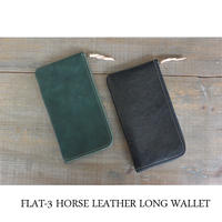 MARINEDAY FLAT-3 HORSE LEATHER 長財布