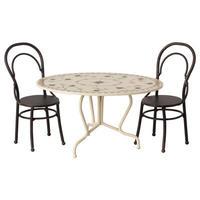 Dining table set, Mini - Anthracite ダイニングテーブルセット