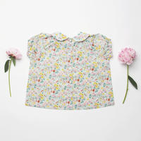 Nellie Quats  Duck, Duck, Goose Blouse-California Bloom Liberty Print  5-6Y・7-8Y * ブラウス
