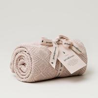 garbo&friends * Ollie Sand Blanket コットンブランケット・ピンク