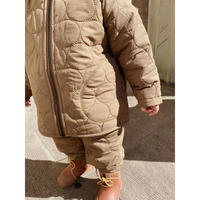Konges solejd  THERMO JACKET CRINKLE *WALNUT ウォールナット