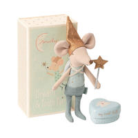 Maileg Tooth fairy mouse matchbox, Big brother  トゥースフェアリー/ブルー