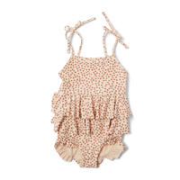 Konges Sloejd / MANUCA FRILL SWIMSUIT・BUTTERCUP ROSA