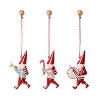 Ornament Pixies, 3 ass.クリスマスオーナメント/ピクシー(3個セット)