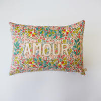 CSAO・Embroidered Cushion * AMOUR  4  Poppy & Daisy