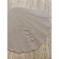 Konges Sloejd  SILICONE BATH MAT CLAM * WARM GREY