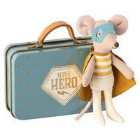 Superhero mouse suitcase, Little bro. スーパーヒーローマウス/スーツケース