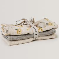 garbo&friends / Burp Cloths 3枚セット・Mimosa