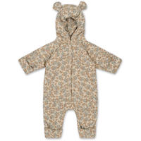 NEW BORN ONESIE WITH HOOD *ORANGERY BEIGE