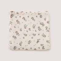 garbo&friends  * Clover* Muslin Swaddle Blanket おくるみブランケット・クローバー
