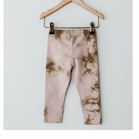 The Simple Folk / The Tie-Dye Legging・BLUSH TIE-DYE