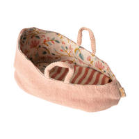Maileg    Carry cot  * 赤ちゃんネズミのキャリーコット/ミスティーローズ