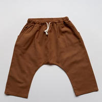 The Simple Folk / THE LINEN TROUSER・RUST・2-3Y~6-7Y