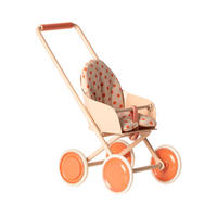 Maileg    Stroller Micro*赤ちゃんネズミのベビーカー・ソフトコーラル