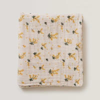 garbo&friends  *  Mimosa * Muslin Swaddle Blanket おくるみブランケット・ミモザ