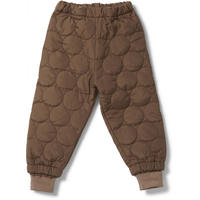 Konges solejd  THERMO PANTS CRINKLE * WALNUT  ウォールナット