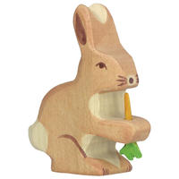 Holztiger / Hare with carrot