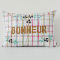 CSAO・Embroidered Cushion * Bonheur