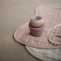 Mushie / Stacking Cups  (Petal)