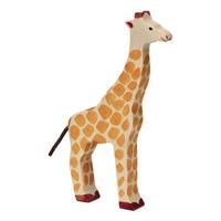 Holztiger / Giraffe, head raised
