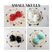 Small Skulls ・ドクロチャーム*1ペア