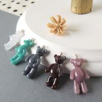 Teddy Bear charm*1個