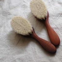 Baby Hair Brush(Pear Wood)