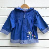 964.【USED】Flower Gardening Nylon Jacket