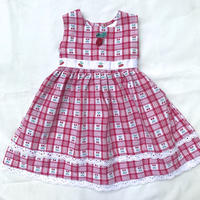 1586.【USED】Cherry Lace Dress