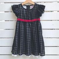 925.【USED】Black Flower Dress