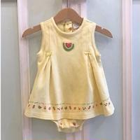 632.【USED】Tack Fruits Rompers