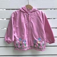 962.【【USED】Flower Gardening Nylon Jacket