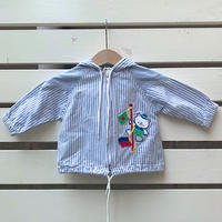 497.【USED】Stripe Bare Jacket