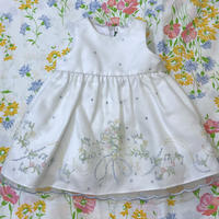 【3mos】Dot Embroidery Dress 14.