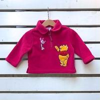 747.【USED】Hot pink Winnie the Pooh  Tops