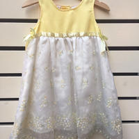 99.【USED】Yellow Flower Formal Dress