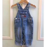 572.【USED】Red Truck Overall