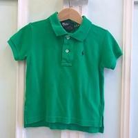 608.【USED】Ralph Lauren Polo shirt Green