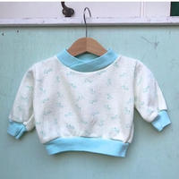 727.【USED】Pastel Collar Giraffe Sweat
