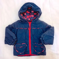 813.【USED】Heart Pocket Down Jacket