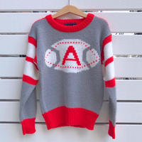 862.【USED】American Football  Knit Sweater