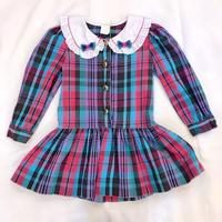 794.【USED】Ribbon  Color scheme Dress