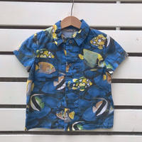 550.【USED】Fish print Shirts