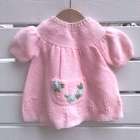 947.【USED】Flower Pocket  Dress