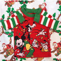 766.【USED】Mickey Friend's Christmas Tops