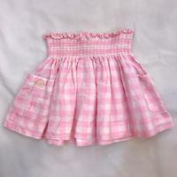 【24mos】Plaid Pocket  Skirt 1500.